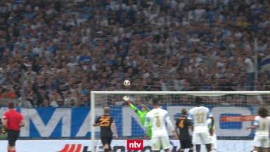 Highlights: Pyro-Skandal überschattet Spiel in Marseille