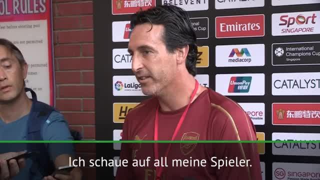 """Emery: """"Habe Respekt für Özils Entscheidung"""""""