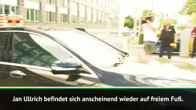 Nach Verhaftung: Ullrich wieder auf freiem Fuß
