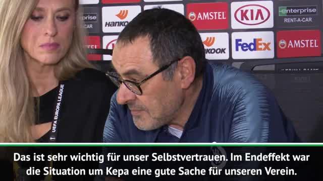 """Sarri: Kepa-Skandal? """"War gut für den Verein"""""""