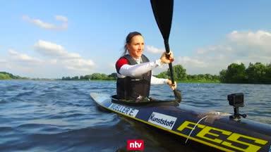 Edina Müller auf dem Weg zu den Paralympics