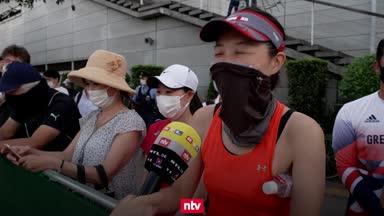Tokio im Olympia-Fieber: Japaner pfeifen aufs Besuchsverbot
