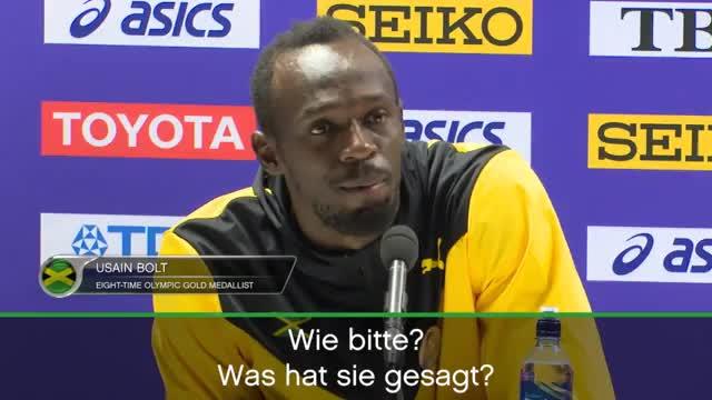 """Bolt verärgert: Doping-Frage """"sehr respektlos"""""""