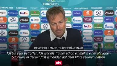 So emotional reagiert Dänemarks Trainer