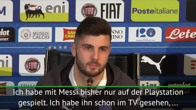"""Italien: """"Kenne Messi nur von der PlayStation"""""""