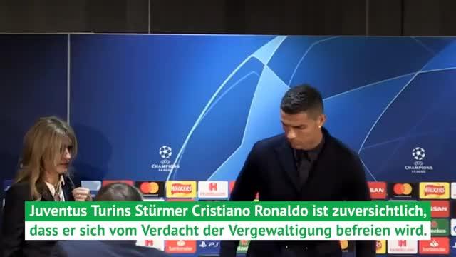 Ronaldo äußert sich zu Vergewaltigungsvorwurf