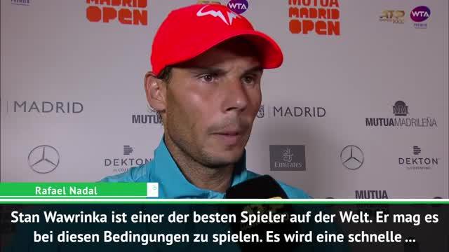 """Nadal vor Duell mit Wawrinka: """"Schippe drauflegen"""""""