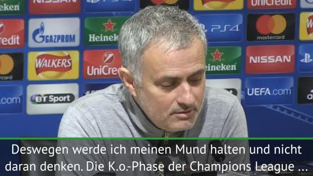 Mourinho warnt: Gegner wird sich nicht freuen