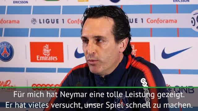 """Emery sicher: """"Neymar wird es allen zeigen"""""""