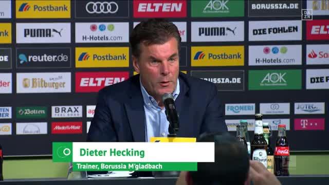 Hecking: Haben Schalke weggebissen