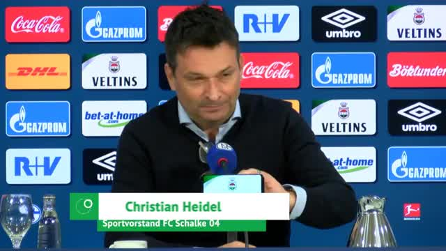 """Heidel über S04-Krise: """"Keiner ist zufrieden"""""""