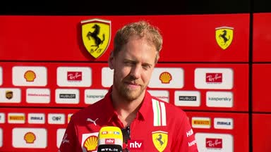 """Geburtstagskind Vettel: """"Platz 3 wäre sehr gut"""""""
