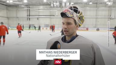 So tickt DEB-Goalie Mathias Niederberger