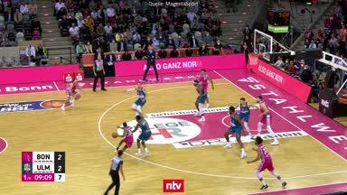 Spektakuläres BBL-Drama in Bonn im Video