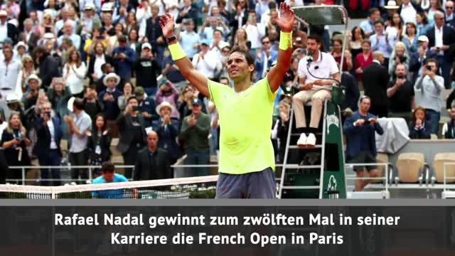 Zwölfter Titel! Nadal triumphiert gegen Thiem