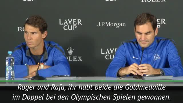 Laver Cup: Federer und Nadal nur noch im Doppel?