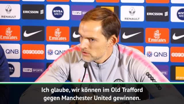 """Tuchel sicher: """"Können im Old Trafford gewinnen"""""""