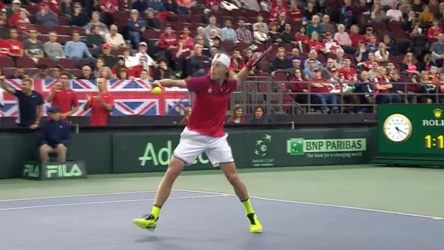 Davis-Cup-Skandal! Kanadier schießt Schiri ab