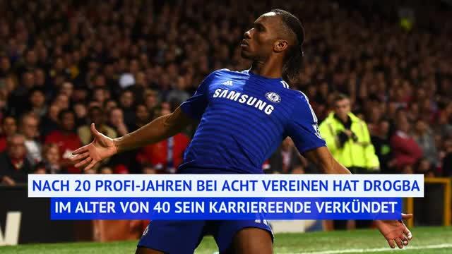 Bayern-Schreck Didier Drogba beendet Karriere