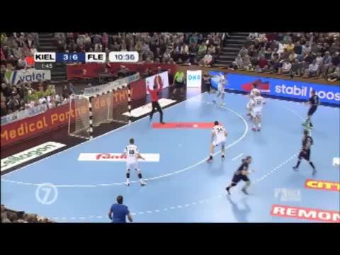 Highlights vom Spiel THW Kiel gegen Flensburg-Handewitt