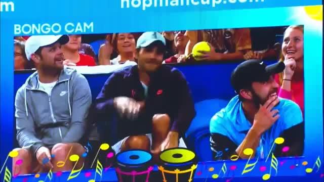 Federer mit irrem Bongo-Duell gegen Zverev