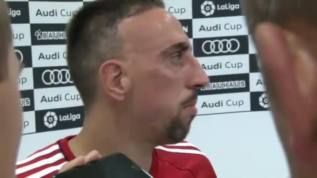 Audi Cup: Ribery über LFC, Neapel und Supercup