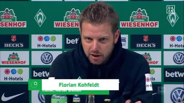 Kohfeldt: Ballbesitz nicht gefundener Schlüssel