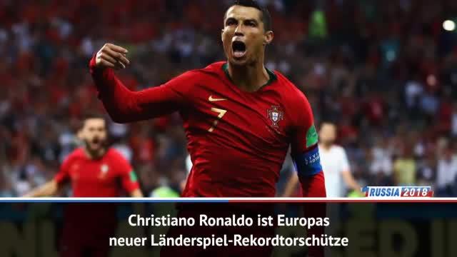 Historisch! CR7 bricht Länderspiel-Torrekord