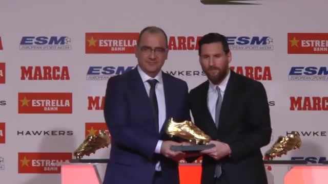 Rekord! Messi gewinnt fünften Goldenen Schuh