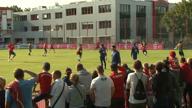 Fallrückzieher! Müller zaubert im Training
