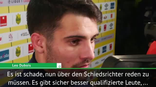 "Nach Schiri-Foul: Dubois fordert ""etwas Logik"""