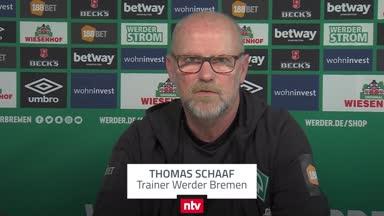 Schaaf: Das ist Werders einzige Chance