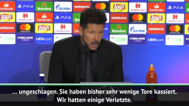 Nach 2:0: Simeone kennt Grund für Sieg über BVB