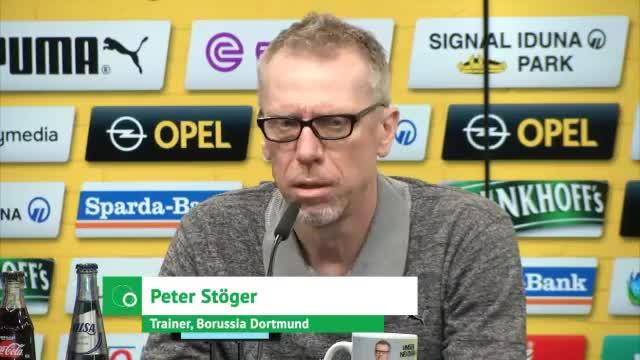Stöger: BVB kann keinen Power-Fußball spielen