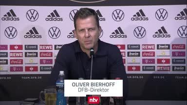 Bierhoff schießt gegen die FIFA: Geld nicht über Qualität stellen!