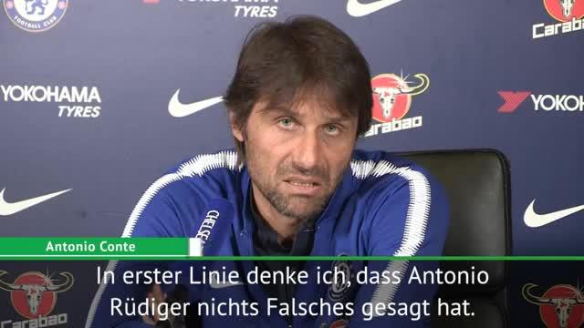 Conte erklärt Rüdiger-Ausbootung