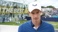 """Murray: """"Großes Glück wieder Tennis zu spielen"""""""