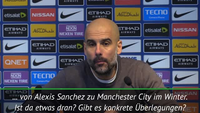 "Guardiola zu Reporter: ""24h nur Transferfenster"""