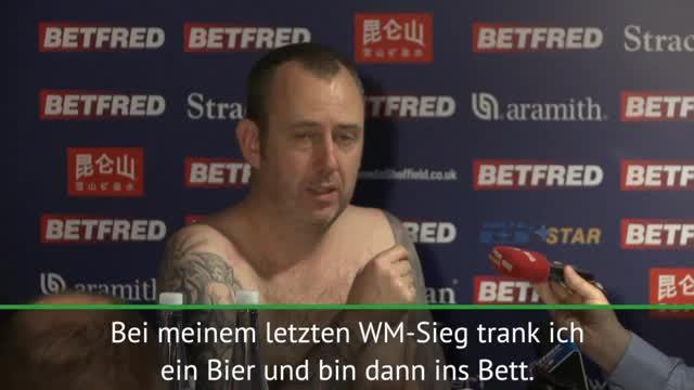 Snooker: Nackt-PK von Weltmeister Williams