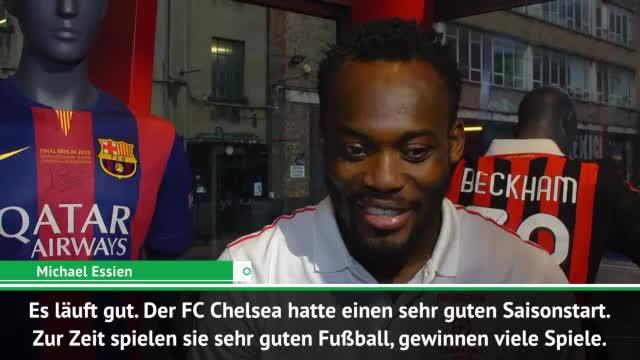 """Essien exklusiv: """"Chelsea kann PL gewinnen"""""""