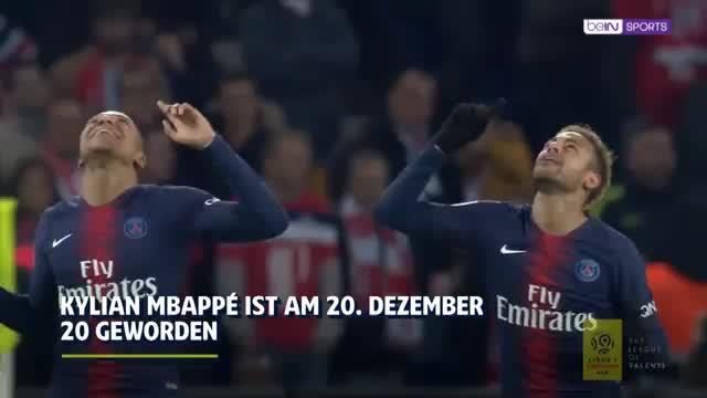 Rekord-Spieler! Youngster Kylian Mbappé wird 20