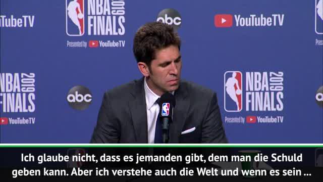Warriors GM mit Tränen nach Durant-Verletzung