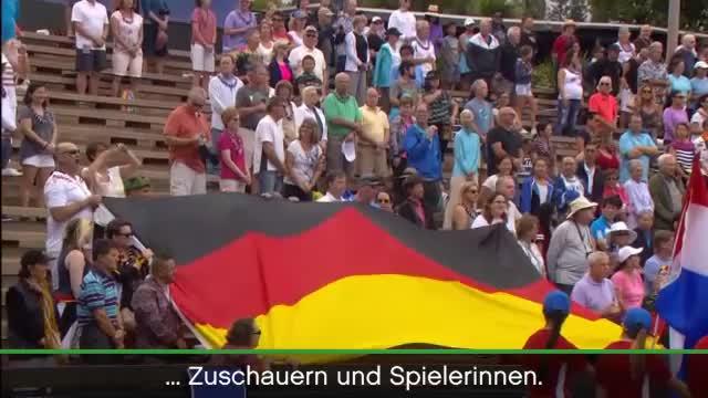 Fed Cup: Riesen-Eklat bei Deutschland-Hymne