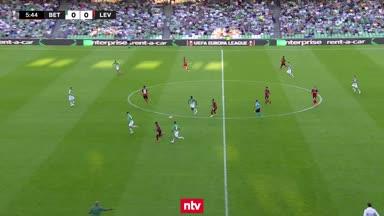 Betis vs. Bayer: Alle Highlights im Video