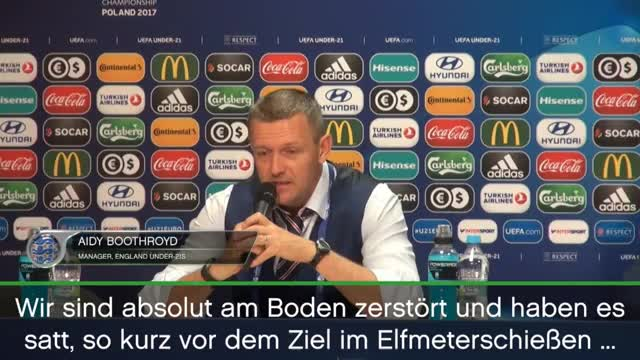 """U21: Bothroyd: """"Haben Elfmeterschießen satt"""""""