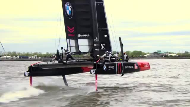 Viel Action beim America's Cup in New York