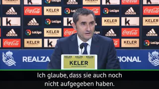 Valverde: Real hat noch nicht aufgegeben