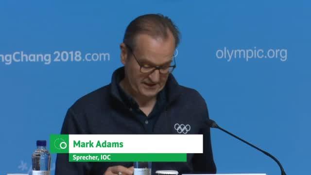 """Olympia: IOC: Dopingbefund wäre """"enttäuschend"""""""