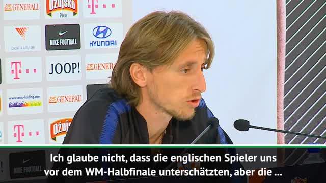 Modric: Wurden vor WM-Halbfinale unterschätzt