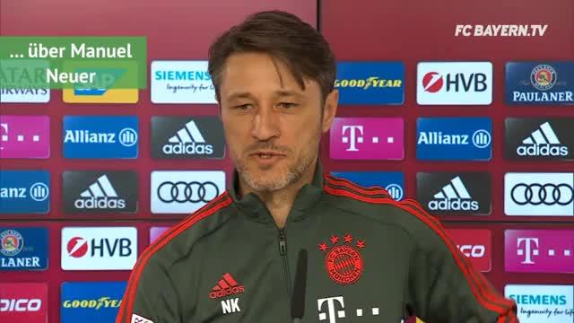 Kovac über Neuer, FCA, Klopp und Lehmann